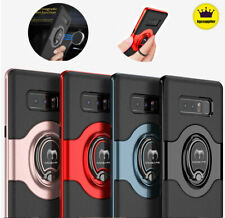 For Samsung Galaxy S10/ S10+ Plus Shockproof w/ Ring Kickstand Holder Case Cover