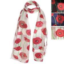 Sciarpe, foulard e scialli da donna floreale in poliestere