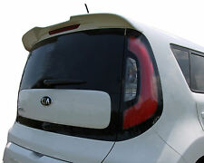 PAINTED REAR WING SPOILER FOR A KIA SOUL FLUSH MOUNT FACTORY  2014-2017