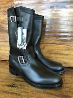 "Unworn Womens 11"" Raynard Chippewa Harness Boots Size 9.5 M Made In The USA"
