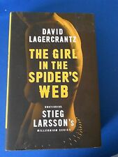 THE GIRL IN THE SPIDER'S WEBB;  FIRST EDITION FIRST PRINT: NEW