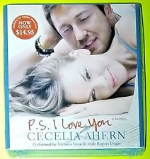 P.S. I LOVE YOU by Cecelia Ahern (CD, Abridged, Movie Tie-In)  ^ NEW ^