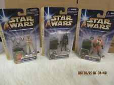 Hasbro 2004 Star Wars A New Hope Lot of 3 Figurines TIE Fighter Pilot & More