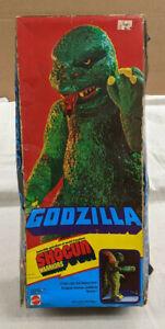 "Mattel Shogun Warriors Godzilla 19 1/2"" Action Figure w/Box - 1977 - Vintage"