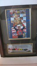 Rare 2001 Nascar Champion Jeff Gordon Thomas Pacconi Display Case & Diecast Car