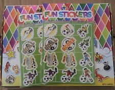 Football Stickers - 10 Sheets For Party Bags, Prizes, Stocking Fillers