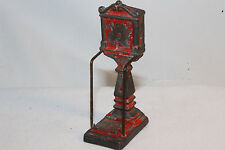 1930's Slush Cast Stand Up Weight Scale, Original