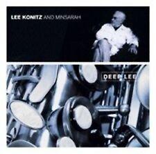 LEE KONITZ & MINSARAH - DEEP LEE - 11 TRACK MUSIC CD - BRAND NEW - E599