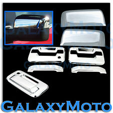 04-08 Ford F150 Chrome HALF Mirror+2 Door Handle+no keypad no KH+Tailgate Cover