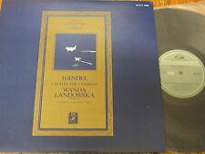 Gr 2147 Handel 5 suites para Clavicordio/Landowska japonés