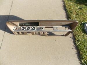 1961 1962 Chevy Bel Air dash speedometer clock gauges