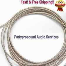 speaker Lead wire for speaker repair, pro audio (high temp grade) 5 feet long