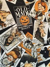 Old Made Witch Crazy Quilt Lady Old Maid Toss Funky Seamstress Game of Old Maid