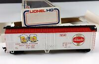 Lionel 5-8541 Schaefer Beer Reefer Plug Door Box Car 78541 HO Scale