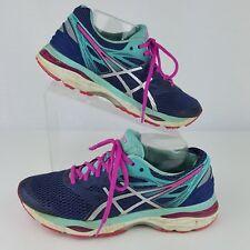 ASICS Gel Nimbus 17 Zapatillas de running para mujer (rosaturquesa)