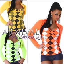 Clubwear Long Sleeve Wrap Tops & Blouses for Women