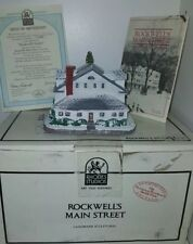 Norman Rockwell's Main Street Collection - Rockwell's Studio Figurine