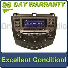04 05 06 07 HONDA Accord Radio Stereo 6 Disc Changer CD Player 7BY2 EXL Coupe