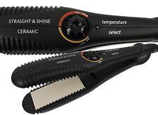W-I-K Haarglätter Glätteisen Crimper Straight & Shine Ceramic Temperature Select