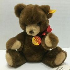 "Vintage Steiff Bear 012556 11"" Petsy Stuffed Animal"