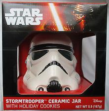 STAR WARS STORMTROOPER CERAMIC CHRISTMAS COOKIE JAR - NEW