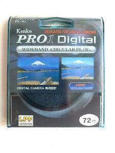 Brand New Kenko Pro1 Digital Wideband Circular PL (W) 72mm  Bargain!