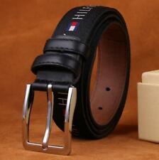 Fashion Men's Women's Cool Belts Needle Knot Strap Leather Belt Buckle 110CM
