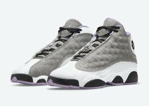 Nike Air Jordan 13 Retro GS Black Lilac White Houndsooth DN3938-015 Youth Sizes