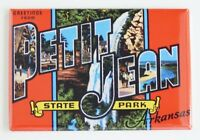 Greetings from Petit Jean Arkansas FRIDGE MAGNET travel souvenir