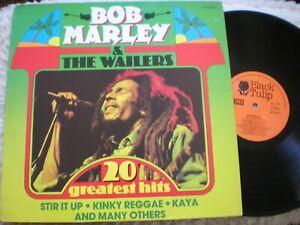 Bob Marley lp 20 Greatest Hits Black Tulip BT 555014 Netherlands