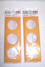 celiane 1 Plaque triple givré mirabelle legrand ref 99884