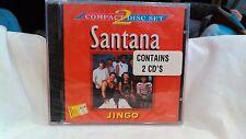 Santana Jingo Compact 2 Disc Set Import NEW                               cd3024