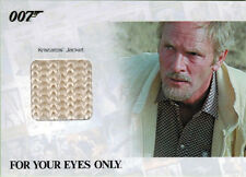 James Bond Archives 2014 JBR42 Relic Costume Card Julian Glover 026 of 375