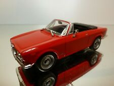 SCHUCO ALFA ROMEO GIULIA GTC 1965 - CABRIOLET- RED 1:43 - GOOD CONDITION