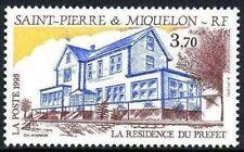 STAMP / TIMBRE SAINT PIERRE ET MIQUELON NEUF N° 584 LA RESIDENCE DU PREFET