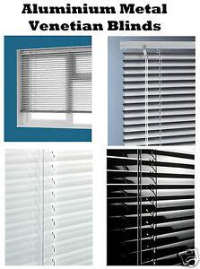 Aluminium Metal Venetian Blinds Trimable Window Blind 25MM Slat Home Office New