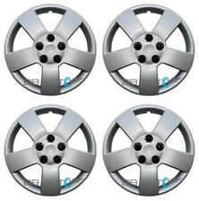 "4 NEW 16"" Silver Bolt On Hubcaps Wheel Covers for CHEVY HHR MALIBU PONTIAC G6"