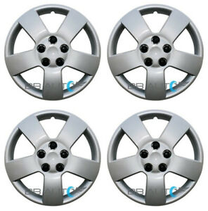 """Set of 4 NEW 16"""" Silver Bolt On Hubcaps Wheel Covers for 2006-2011 Chevrolet HHR"""