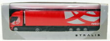 Promotoys 1/87 Scale Model Truck & Trailer 5418 - Iveco Stralis - Red