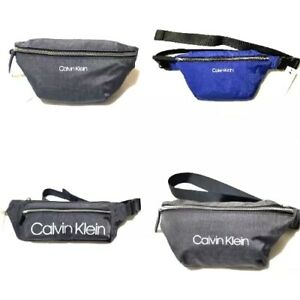 NWT Calvin Klein Fanny Pack Purse Zip Close Waist Belt Bag Unisex