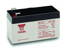 Yuasa NP1.2-12 (12v 1.2Ah -1.3Ah) Rechargeable Battery Alarm Systems 1 Yr Warnty