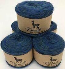 Alpaca Wool 100% Superfine Alpaca Worsted Yarn Lot of 5 Pacific Melange 5Hi02