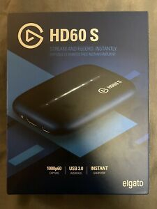 Elgato HD60 S Game Capture Card Stream and Record Gaming Instantly 1080 USB