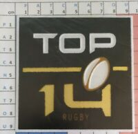 France Patch Badge officiel Top 14 maillot Rugby 2012/2020 Toulouse, Toulon etc