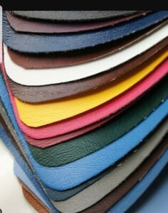 """UPHOLSTERY VINYL LEATHER FABRIC (3 METERS X 54"""" WIDE) 9 colours Flame Retardant)"""