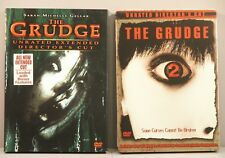 The Grudge (DVD, 2005 Extended Cut Not Rated) and The Grudge 2 Steelbook