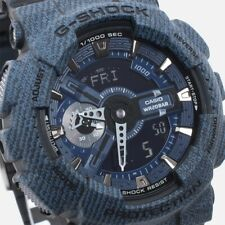 Casio G-Shock New Denim Collection Limited Model Series Watch GA110DC-1A Free