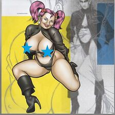 COOP mini Art Chubby Fat Pinup Model Girl Poster Print Couture Fashion