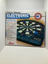 Halex Electronic Dart Board 4 Player 14 Games 75 Level Variations With Darts