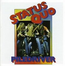 STATUS QUO PILEDRIVER 1 Extra Track REMASTERED CD NEW